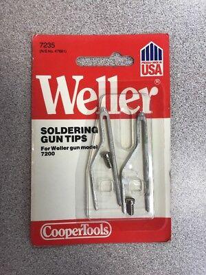 Two Pack Weller Soldering Gun Tips 7235
