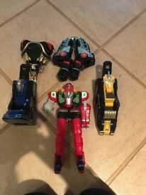 Power Rangers Red Dragonzord