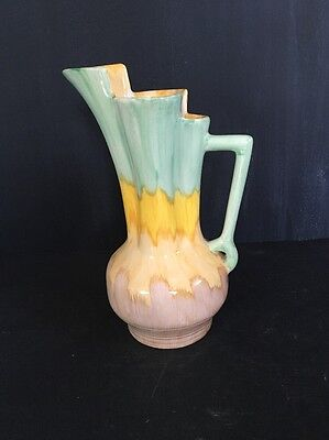 Beswick Art Deco Vase / Jug Shape 177/2 1930s Vintage Almost 9 inches tall