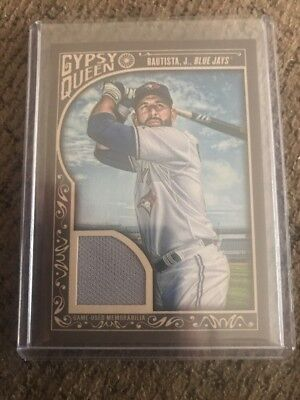 2015 Topps Gypsy Queen Game Used Memorabilia #GQR-JB Jose Bautista Blue Jays for sale  York