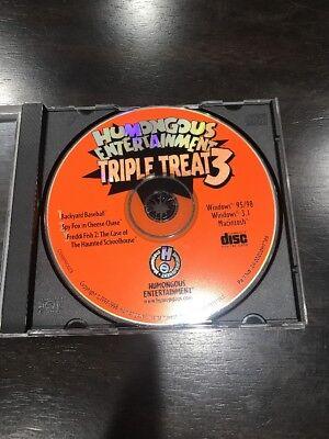 Humongous Entertainment: Triple Treat 3: Baseball, Spy Fox, Freddi Fish