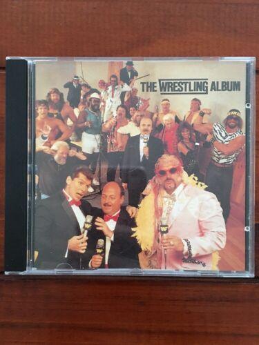 The Wrestling Album - Musik CD Von Wrestling-Stars von 1985 - RARITÄT