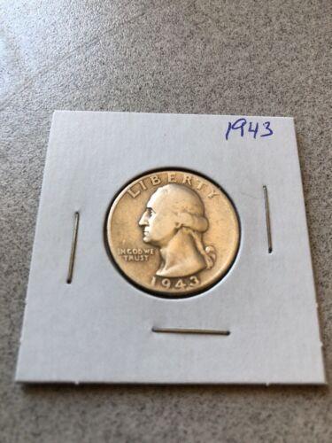 George Quarter 90 Silver 1943 - $6.99