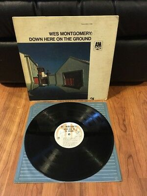 Wes Montgomery  Down Here On The Ground  Jazz Lp A M 3006