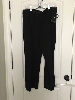 Apostrophe' Women's Misses Wide Leg Casual Dress Pants Sz 18 Black Clothes