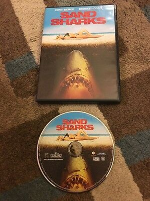 Sand Sharks (DVD) Brooke Hogan, Corin Nemec Horror Free - Sand Shark Movie