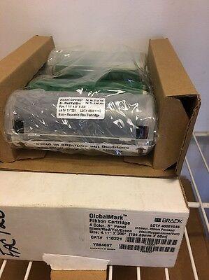 Brady 110221 Ribbon Cartridge Redgreen Yellow Black 4-18 X 200 Ft