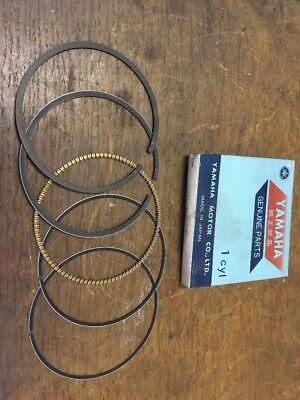 GENUINE NEW <em>YAMAHA</em> PISTON RING SET 34L 11610 40 TT600 XT500 XT600 YFM6