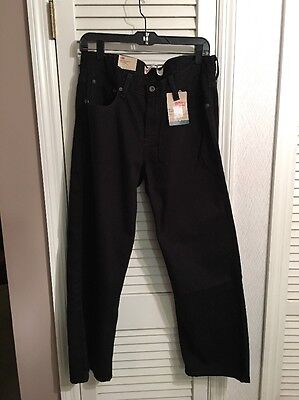 NWT Levi's 550 Jeans Husky Boys 16 - 34 x 28  Men's  $42 Black Relaxed Fit