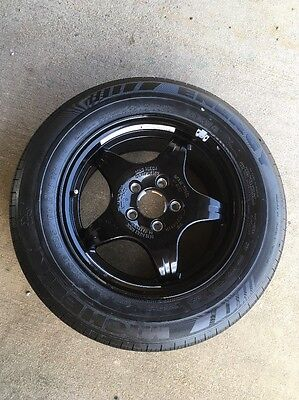 Mercedes Benz S430 Tire - 2002 Mercedes Benz S430 W220 Spare Wheel and Tire 225/60 R16; A2204010402