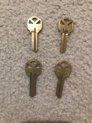 Taylor By Ilco Key Blanks Kw1 Fits Kwikset Lot Of 10 Keys