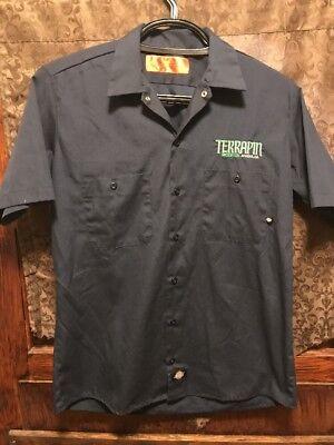 TERRAPIN BEER CO Athens GA ~ Mens MED ~ Dickies Beer Delivery Work (Mens Clothing Athens Ga)