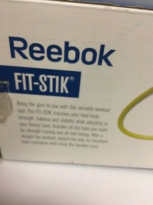 Reebok Fit -Stick With DVD Complete 20 Minute Workout. Tone & STRECH