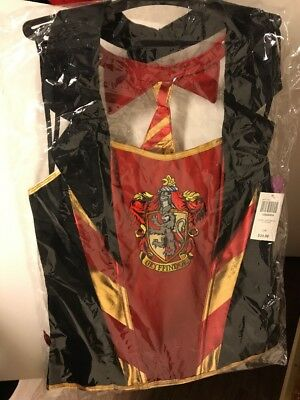 HOT TOPIC HARRY POTTER GRYFFINDOR CORSET COSTUME LARGE/XL - Hot Topic Costumes