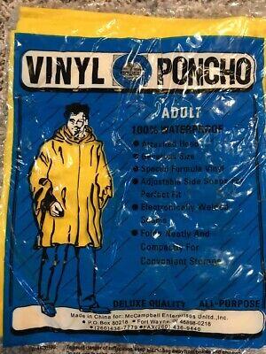 Yellow Rain Poncho (Rain Poncho Lightweight Ponchos For Man Women Adult Waterproof)