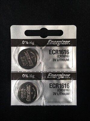 2 NEW CR1616 Energizer ECR1616 3V Lithium Button Cell Batteries USA SELLER