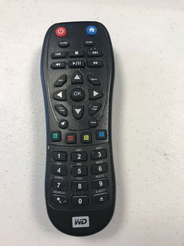Western-Digital streaming media player w/ KWSB0865F101 Remote Control Infrared