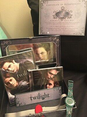 Twilight Ultimate Gift Set keepsake Box Limited Edition, New Sealed W Bonus