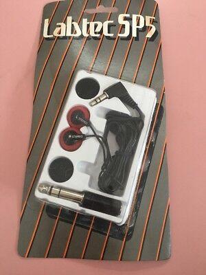 Labtec Sp5 Headphones Vintage Rare for sale  Caledonia