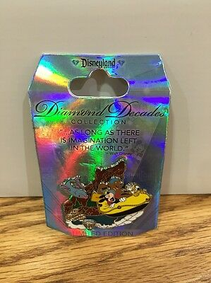 Disneyland 60th Anniversary Diamond Decades Pin: Grizzly Rivers LE (DP-17)