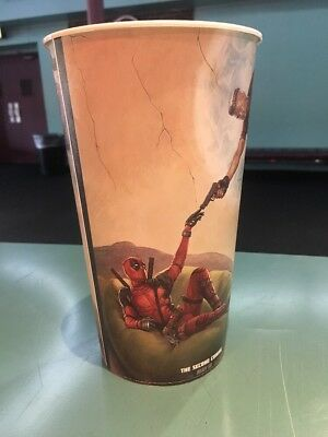 Deadpool 2 44oz Plastic Theater Cup Brand New
