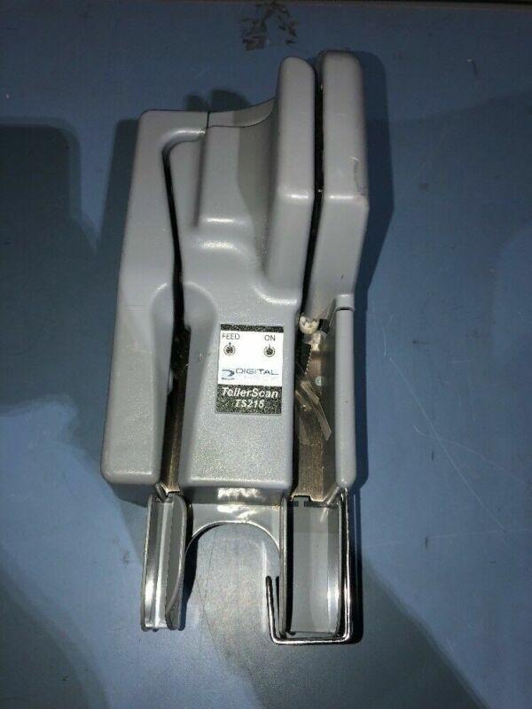 DIGITAL CHECK TELLERSCAN TS215 CHECK SCANNER