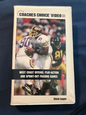 West Coast Offense Play Action And Sprint Out Passing Games. Steve Logan.