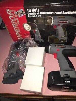 Superior Cordless Drill 18V