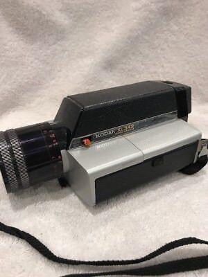 Vintage MOVIE CAMERA:  Kodak XL342 Video Camera Old Collectors Camera  Must Have