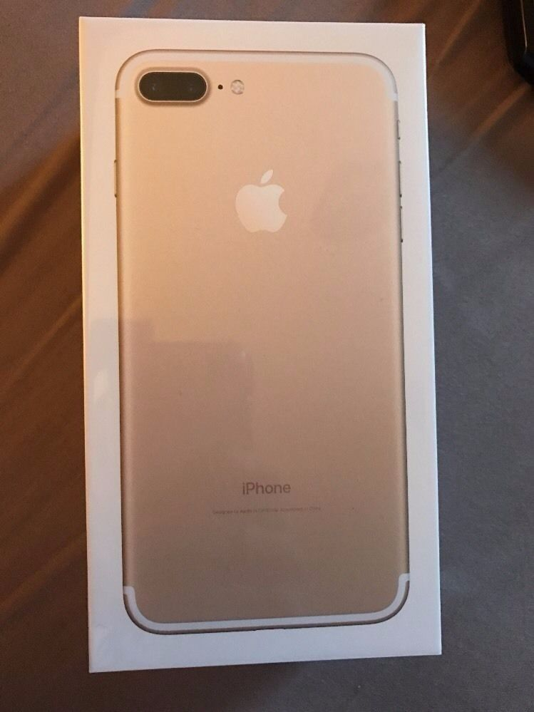 Apple iPhone 7 Plus (Latest Model128GBGold (EE Network)Brand New Sealedin Chesham, BuckinghamshireGumtree - Apple iPhone 7 Plus (Latest Model) 128GB Gold (EE Network)Smartphone Brand New Sealed Packaging. Unwanted upgrade. Cash on collection Deal From Chesham. Call or text for anymore info. No time wasters,please