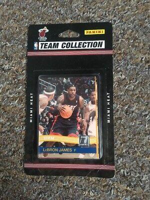 NBA Team Collection Cards Miami Heat Panini Donruss 2010-11 Brand New