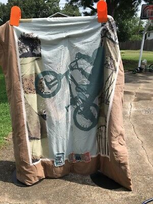 Used, X GAMES GRAPHICS Twin COMFORTER THROW BEDDING BMX Bicycle Skateboard Reversible for sale  Chattanooga