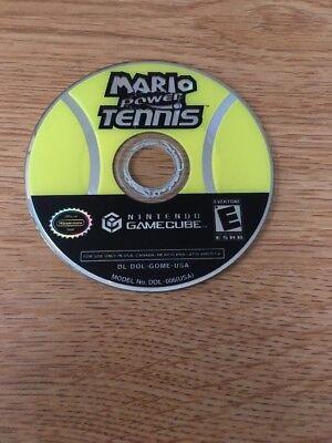 Mario Power Tennis Nintendo Gamecube Disc Only Free Shipping