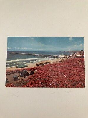 Ocean Fishing Pier San Clemente Ca Orange County Postcard