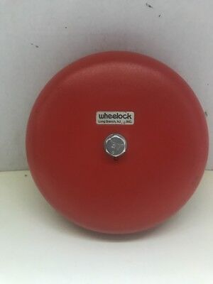 Wheelock Cooper Fire Alarm Motor Bell Model Mb-g6-12 - Used Condition