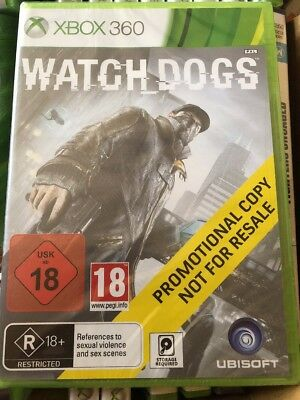 XBOX 360 Watch Dogs Promo Game (Full Promotional Game) Ubisoft Sealed PAL for sale  Shipping to Nigeria
