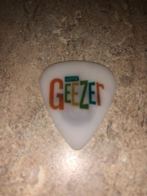 Guitar Pick GEEZER Alzheimers Charity Amp Out ALZ Arkansas Memory Keepers