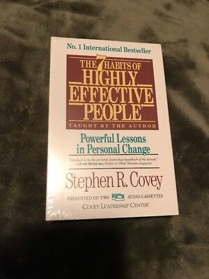 The 7 Habits of Highly Effective People Covey new in package 2
