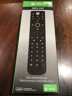 PDP Talon Media Remote Controller for XBox One, Xbox One S, XBox One X - BNIB
