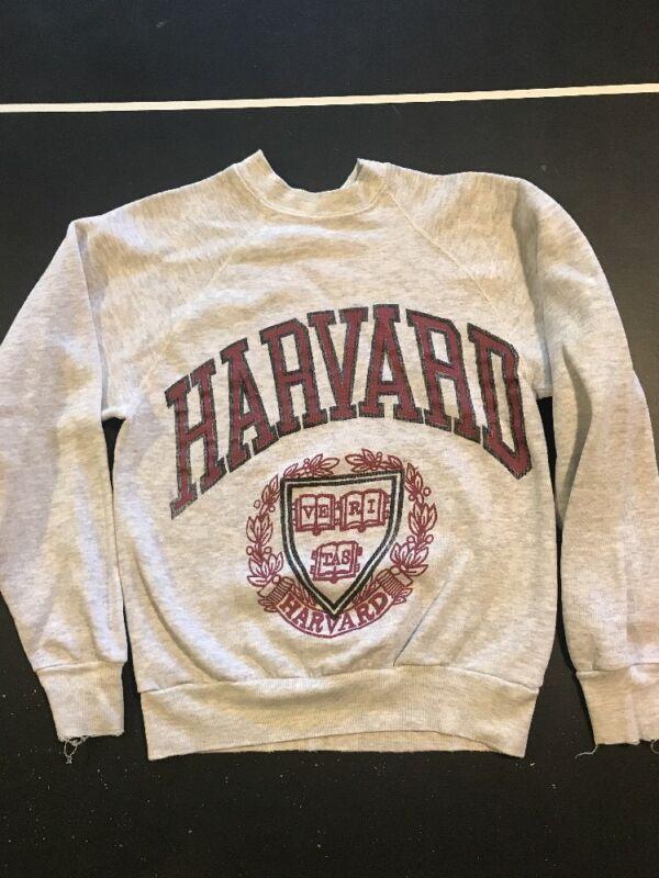 Vintage Harvard University Sweatshirt Size XS 1980s