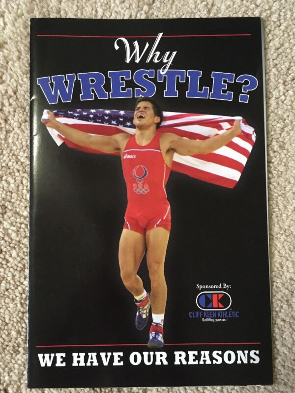 RARE Why Wrestle Mini Poster w/ 2008 Olympics Gold Medalist & UFC Henry Cejudo