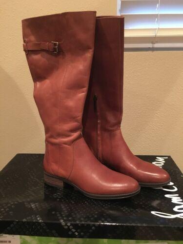 Sam Edelman Women's Patton 2 Whiskey Leather Riding Boot Sz