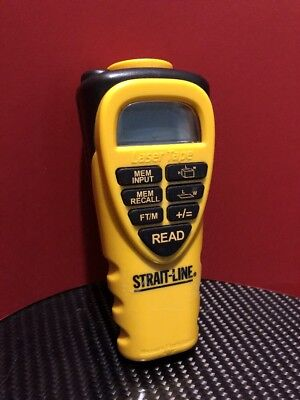 Newell Rubbermaid Strait Line Laser Tape   Good Condition   Works