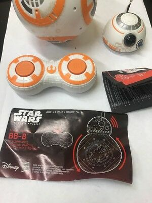 Star Wars The Force Awakens BB-8 Remote Control Droid. Read Description