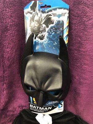 Batman Kinder Kostüm Umhang Cape mit Kapuze Maske 5-9 Jahre 122 128 - Kinder Batman Kostüm Maske