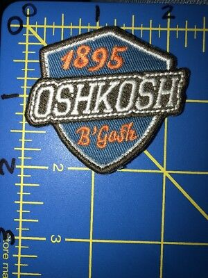 OshKosh B'Gosh 1895 Shield Patch Children's Clothing Wisconsin WI Carter's Crest - Oshkosh B Gosh Children's Clothing