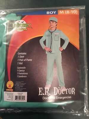 Halloween Costume Boys ER Doctor Medium 8-10 - Er Doctor Costume