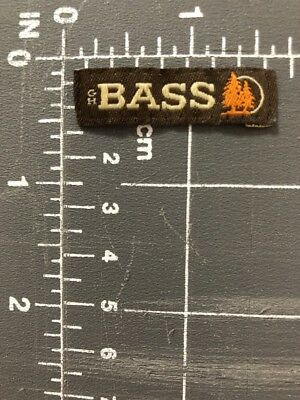 G. H. Bass & Co. Company Logo Patch Tag Clothing Apparel GH G.H. Maine USA ME US
