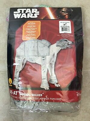 Dog Walker Halloween Costume (Star Wars At-At Imperial Walker HALLOWEEN COSTUME For DOGS Size)