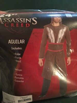 Halloween Costume Man Assassins Creed Aguilar Small 28-30 New - 28 Halloween Costumes